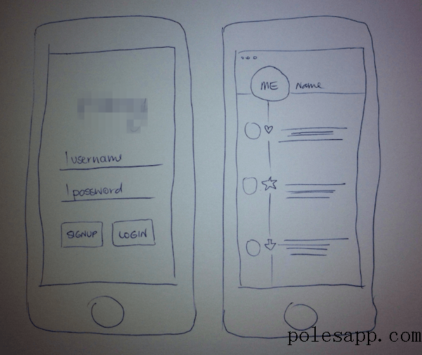 app软件开发,草图